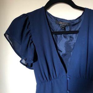 FOREVER 21 | Navy Dress